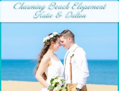 Charming Beach Elopement | Katie+Dalton