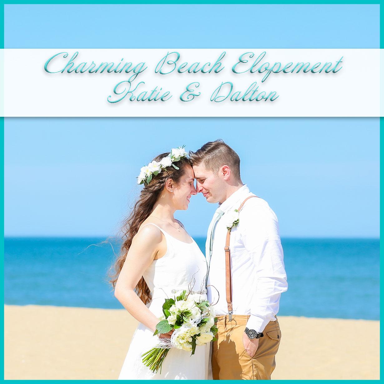 Charming Beach Elopement