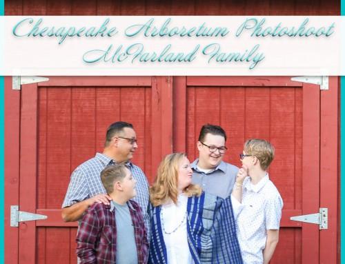 Chesapeake Arboretum Photoshoot | McFarland Family