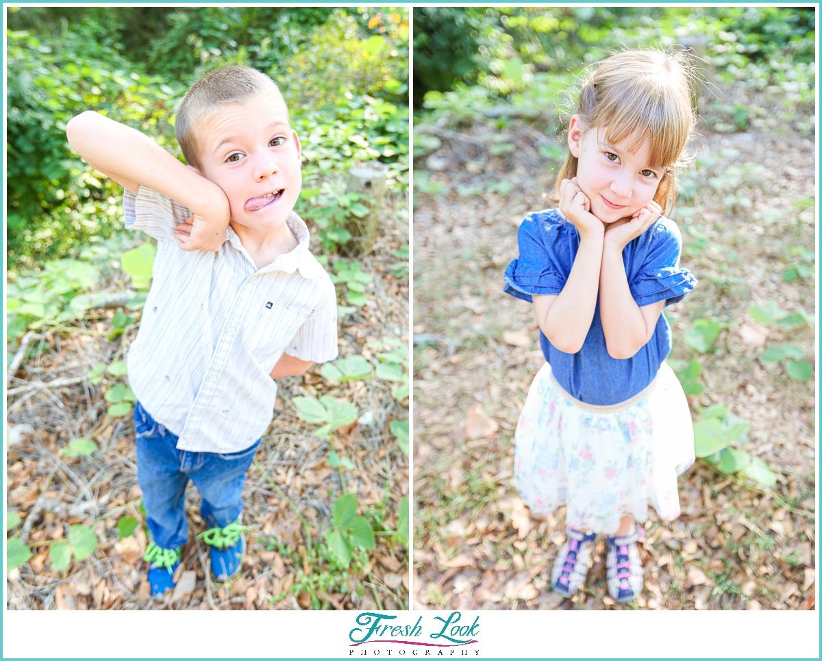 South Carolina photoshoot for kids