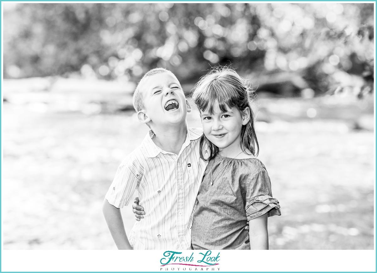 laugh out loud kids photos