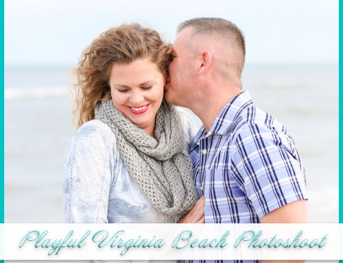 Playful Virginia Beach Photoshoot | Paul+Stephanie
