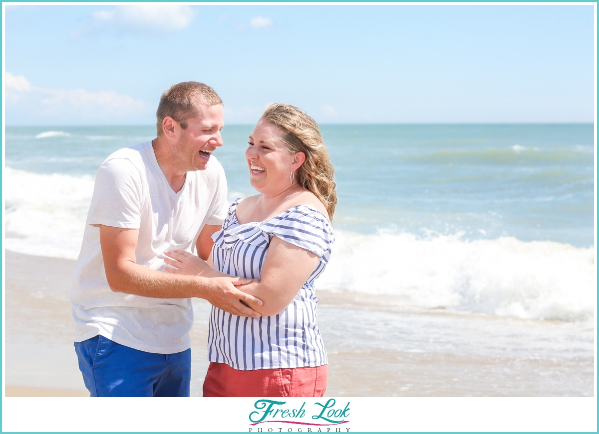 Sandbridge couples photographer