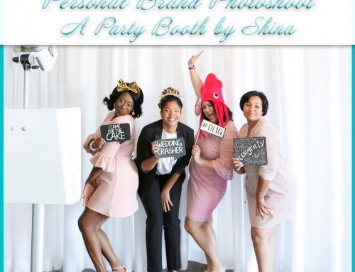 Personal Brand Photography | A Party Booth by Shina