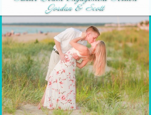 Sunset Beach Engagement Session | Jordan+Scott