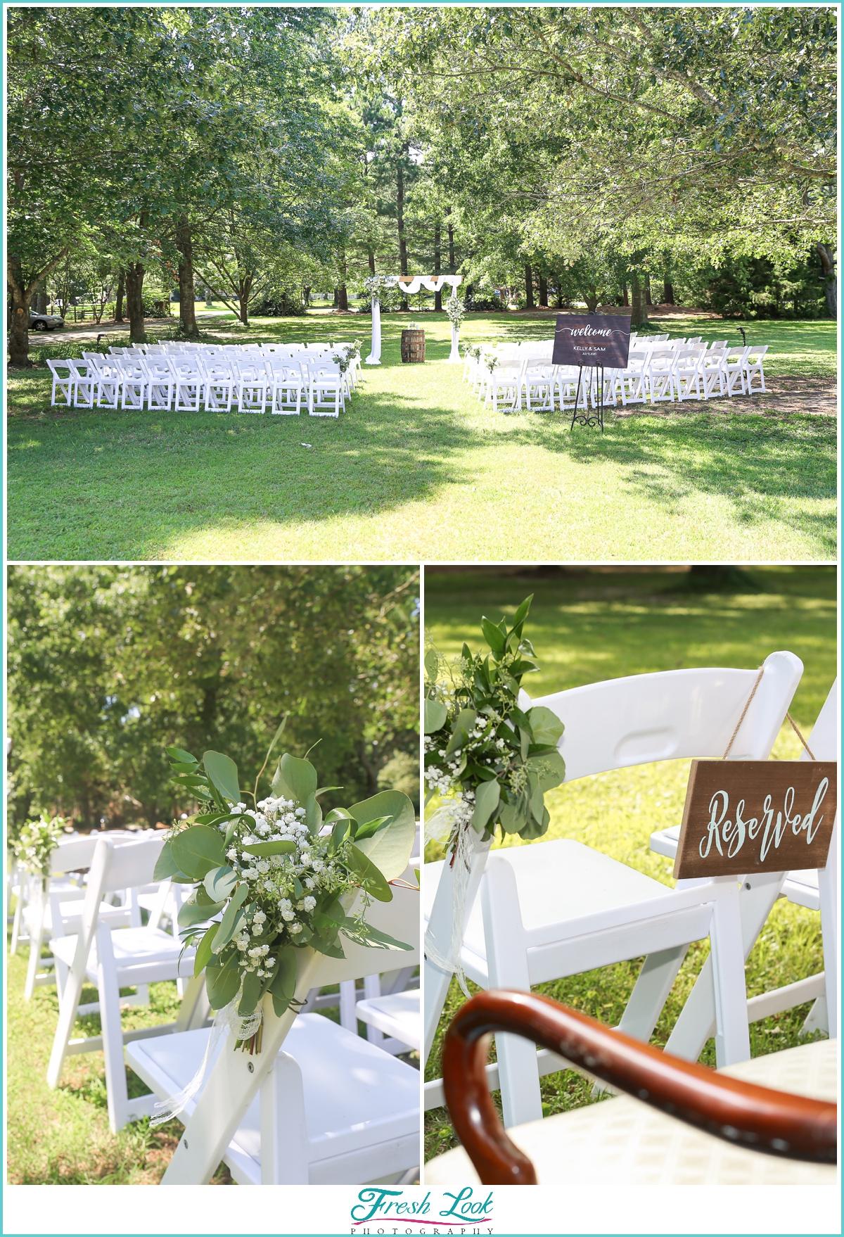 Virginia Beach outdoor wedding venue