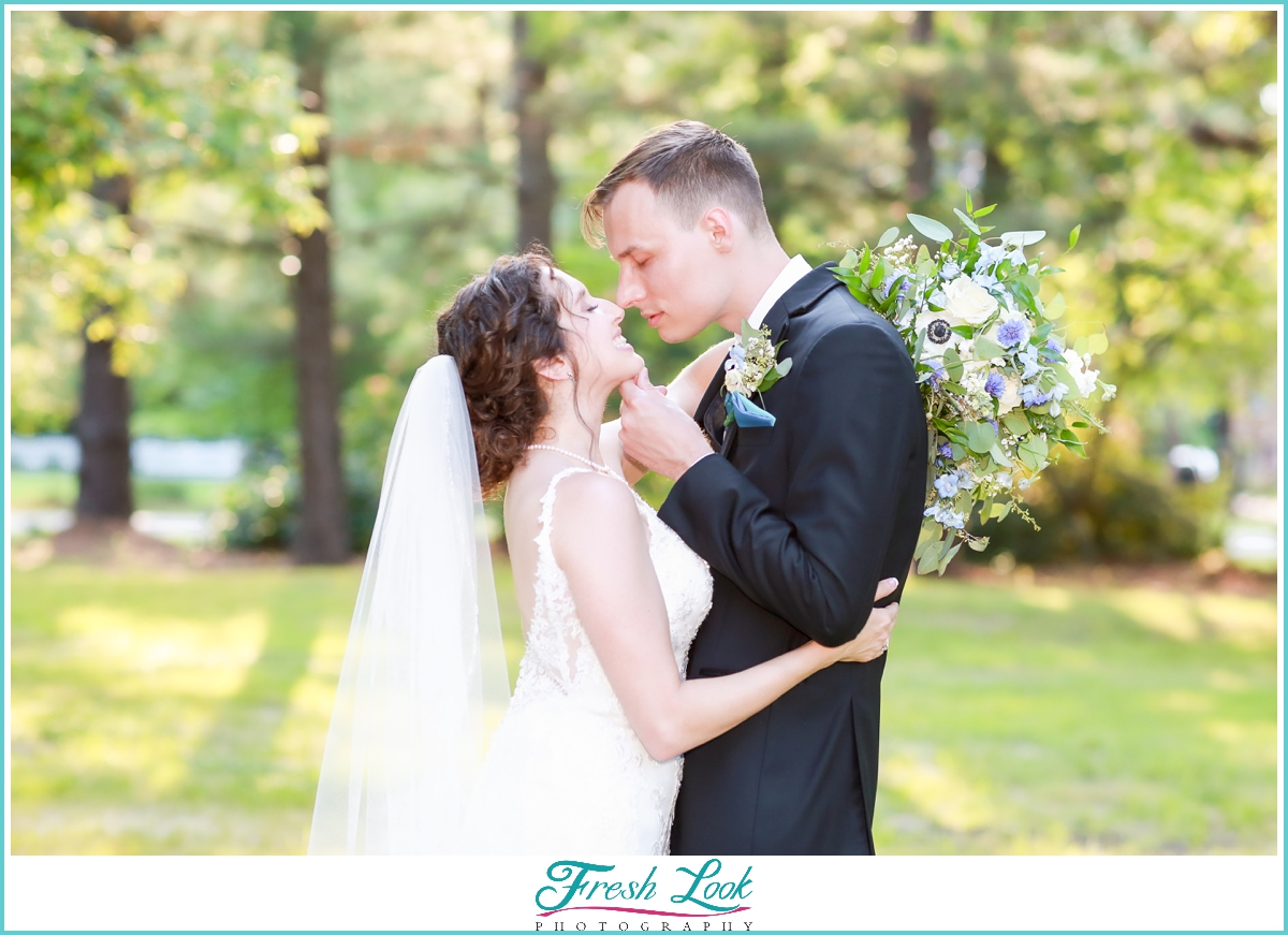 Virginia bride and groom photography