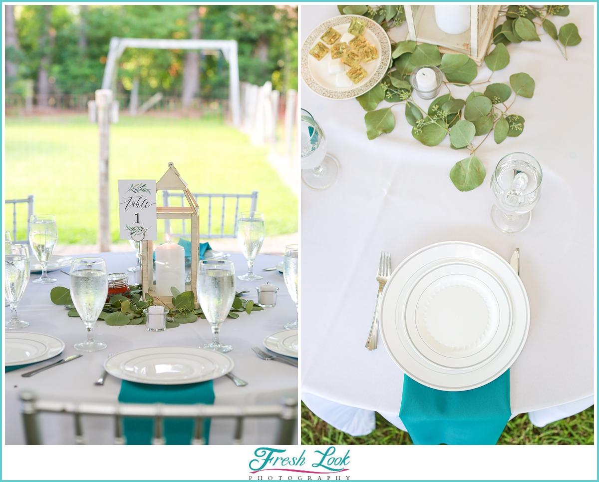 wedding reception table decor ideas