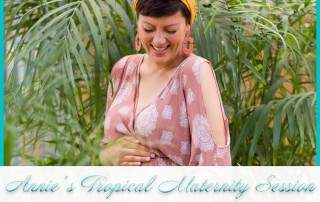 Tropical Maternity Session