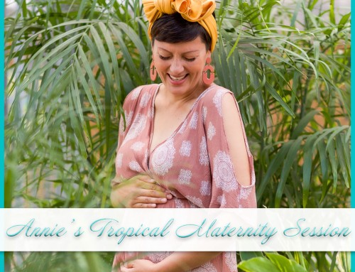 Tropical Maternity Session | Annie