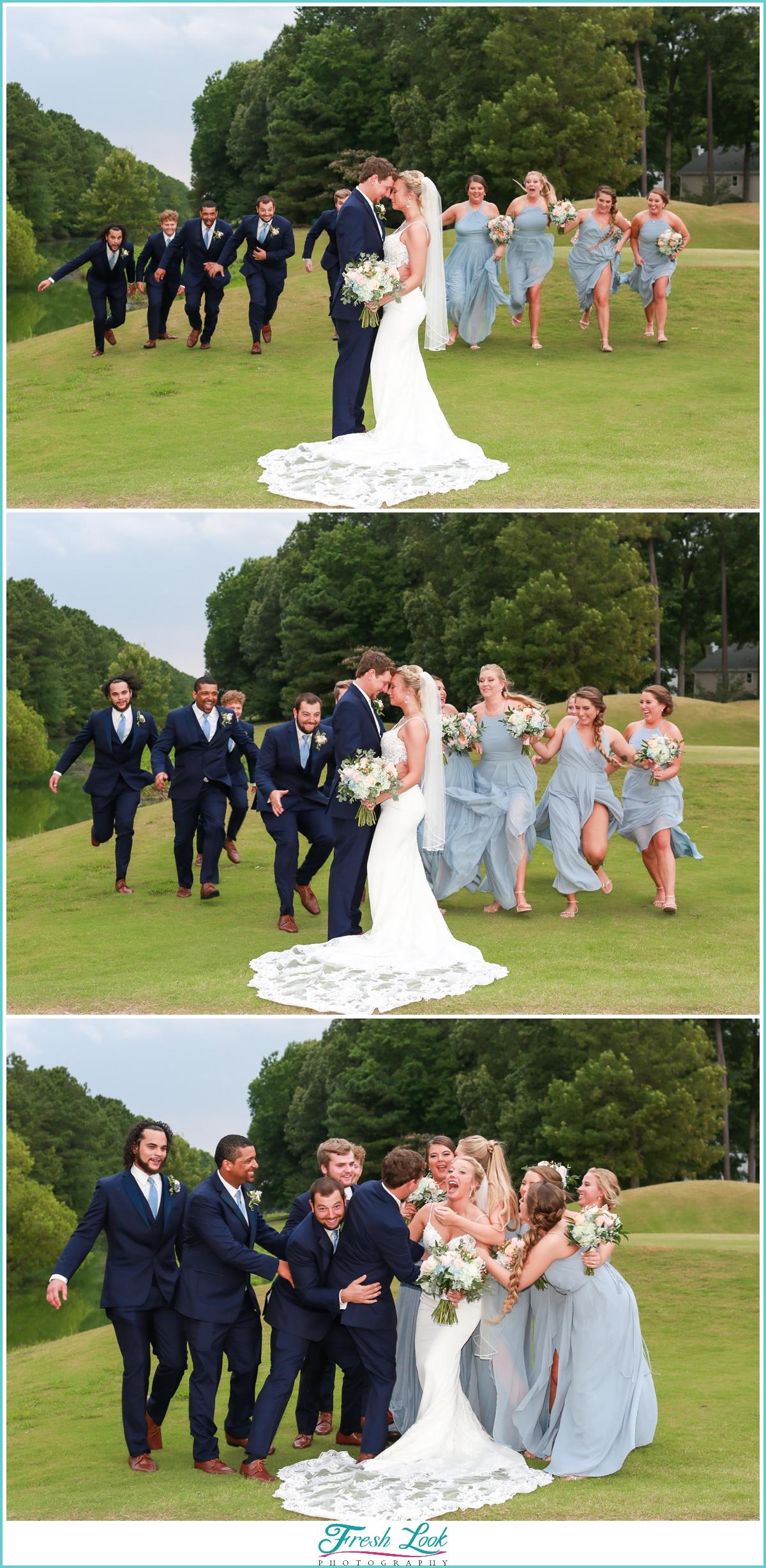 fun wedding photography photos