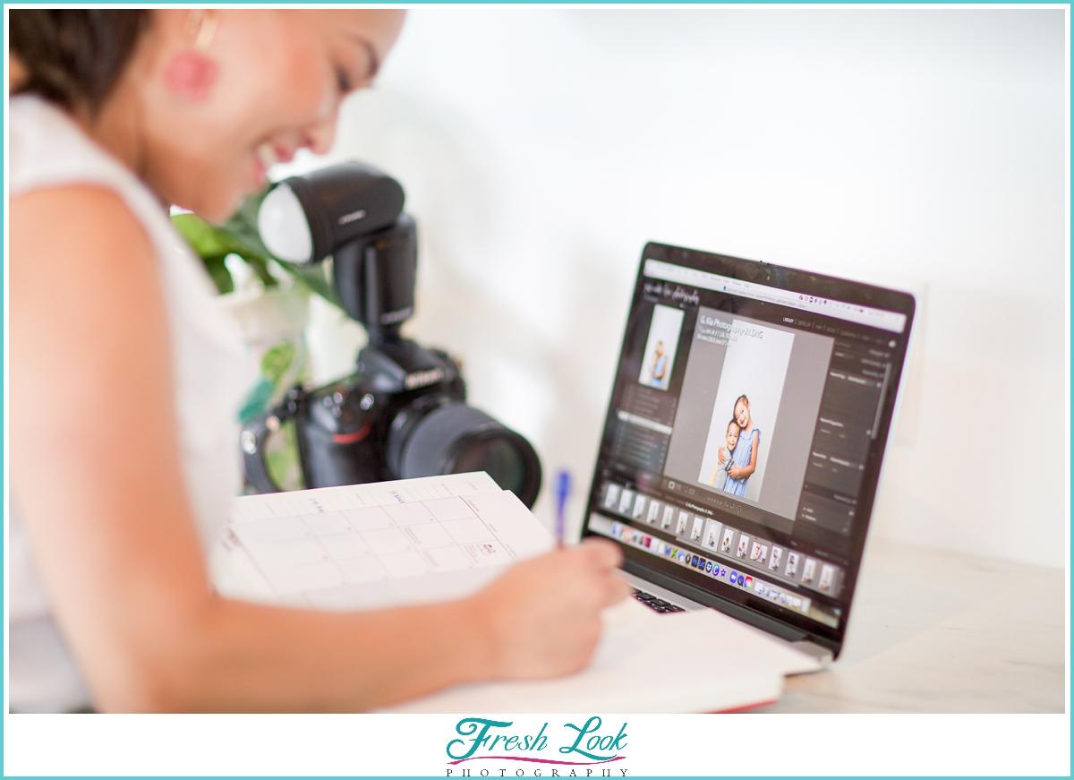 Photographer Personal Branding Photoshoot
