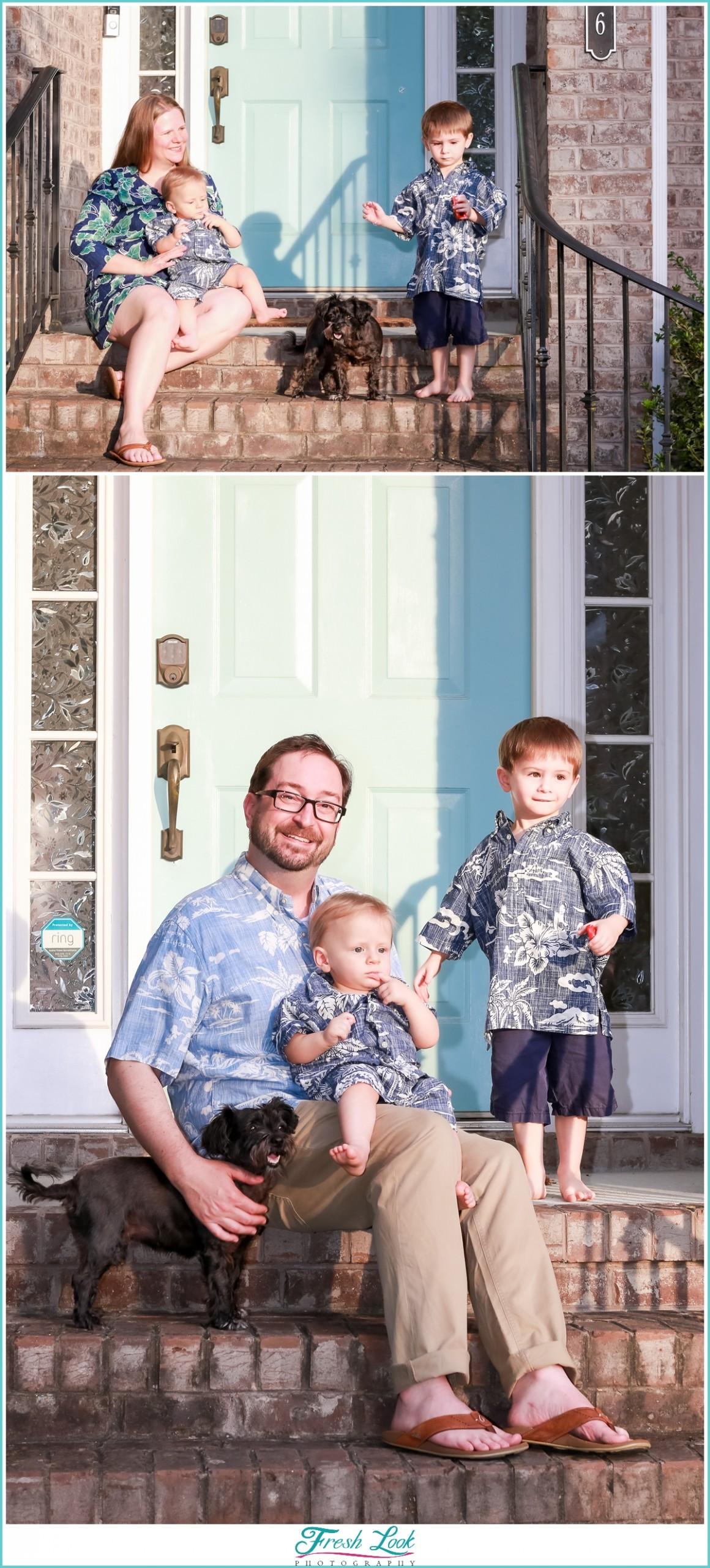front porch family photos