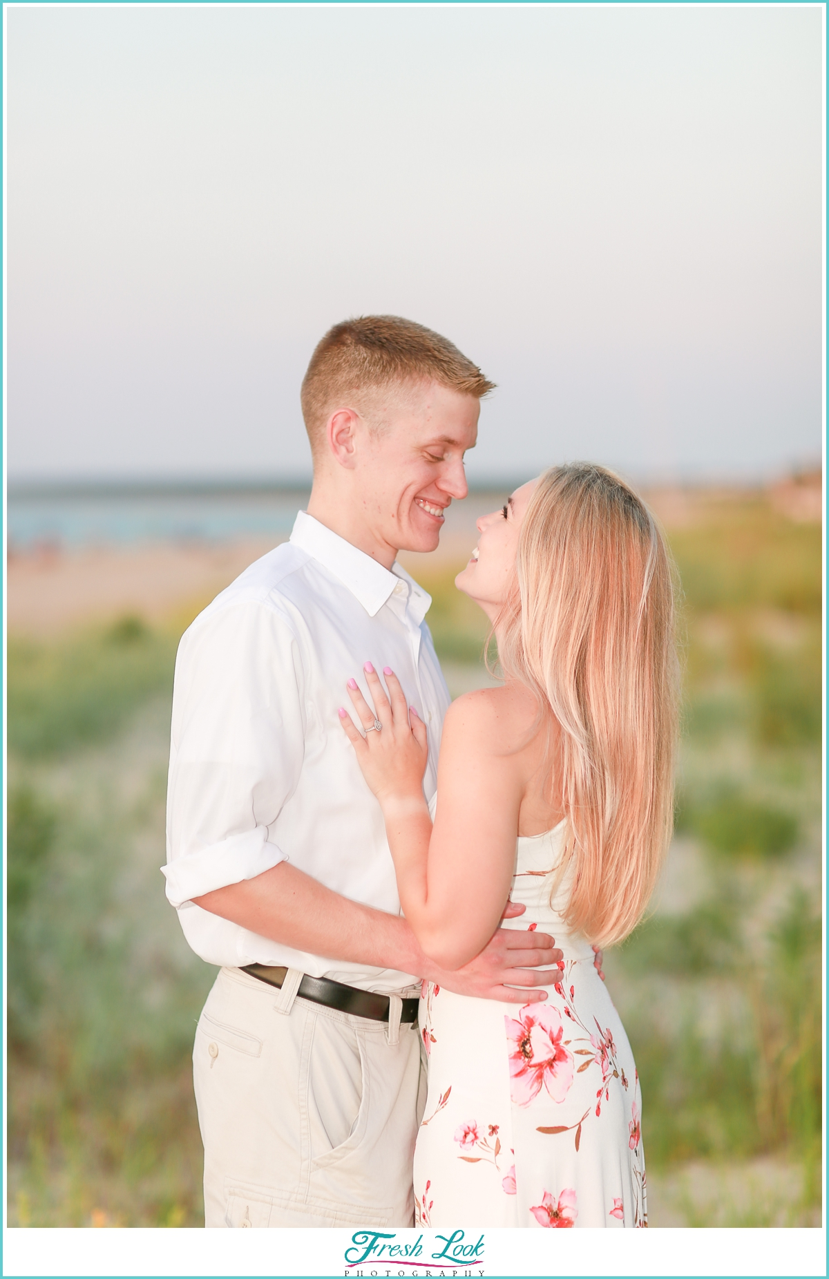 Engagement Photoshoot on the beach