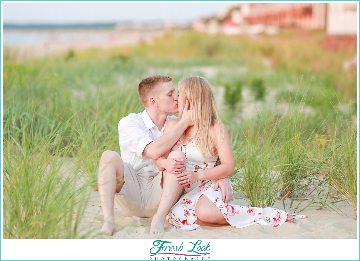 romantic Virginia Engagement photos
