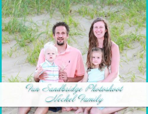 Fun Sandbridge Photoshoot | Neckel Family