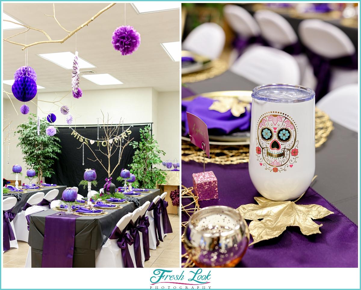 Halloween Bridal Shower Decorations