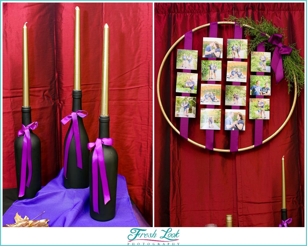 hula hoop photo display