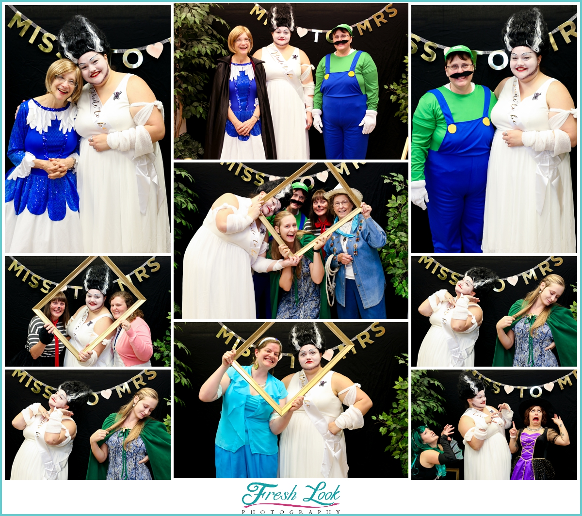 Photobooth fun at the reception