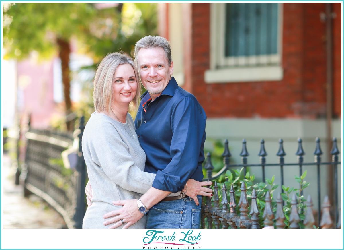 Urban couples photos in Norfolk