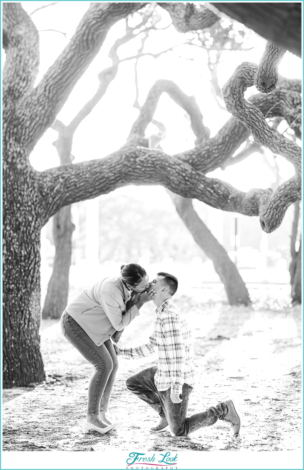 She Said Yes engagement photos