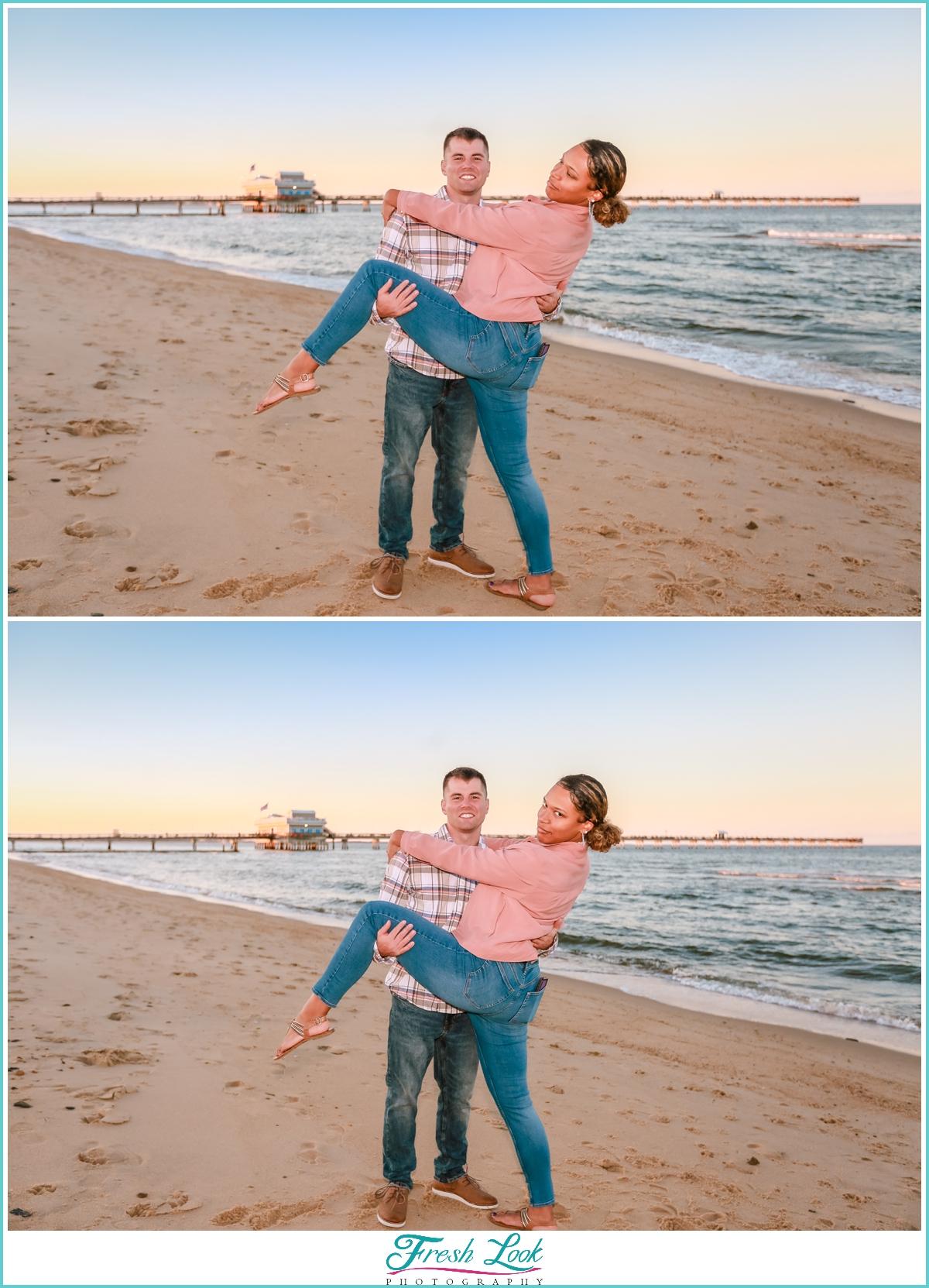 Norfolk Engagement Photography
