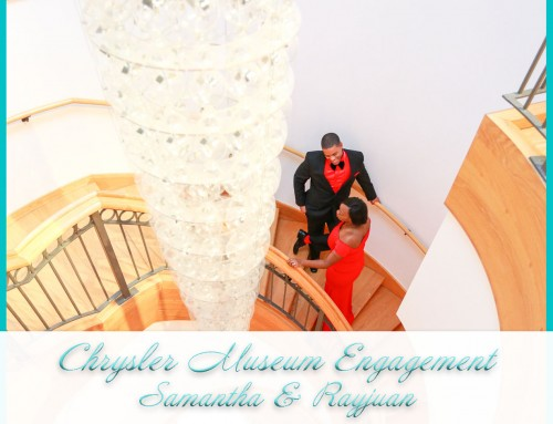 Chrysler Museum Engagement | Samantha+Rayjuan