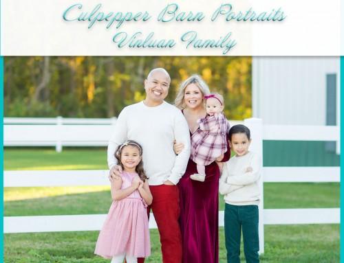 Culpepper Barn Photoshoot   Vinluan Family