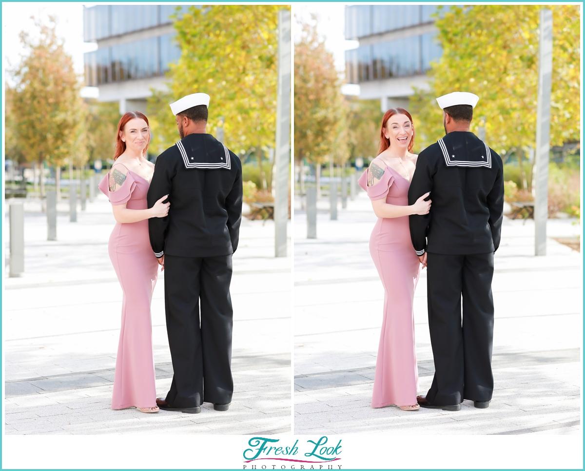 Romantic summer elopement photos