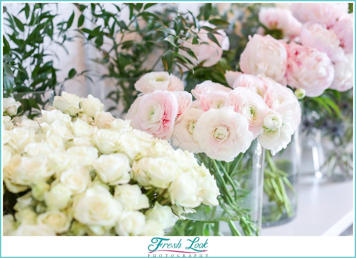 make your own flower bar