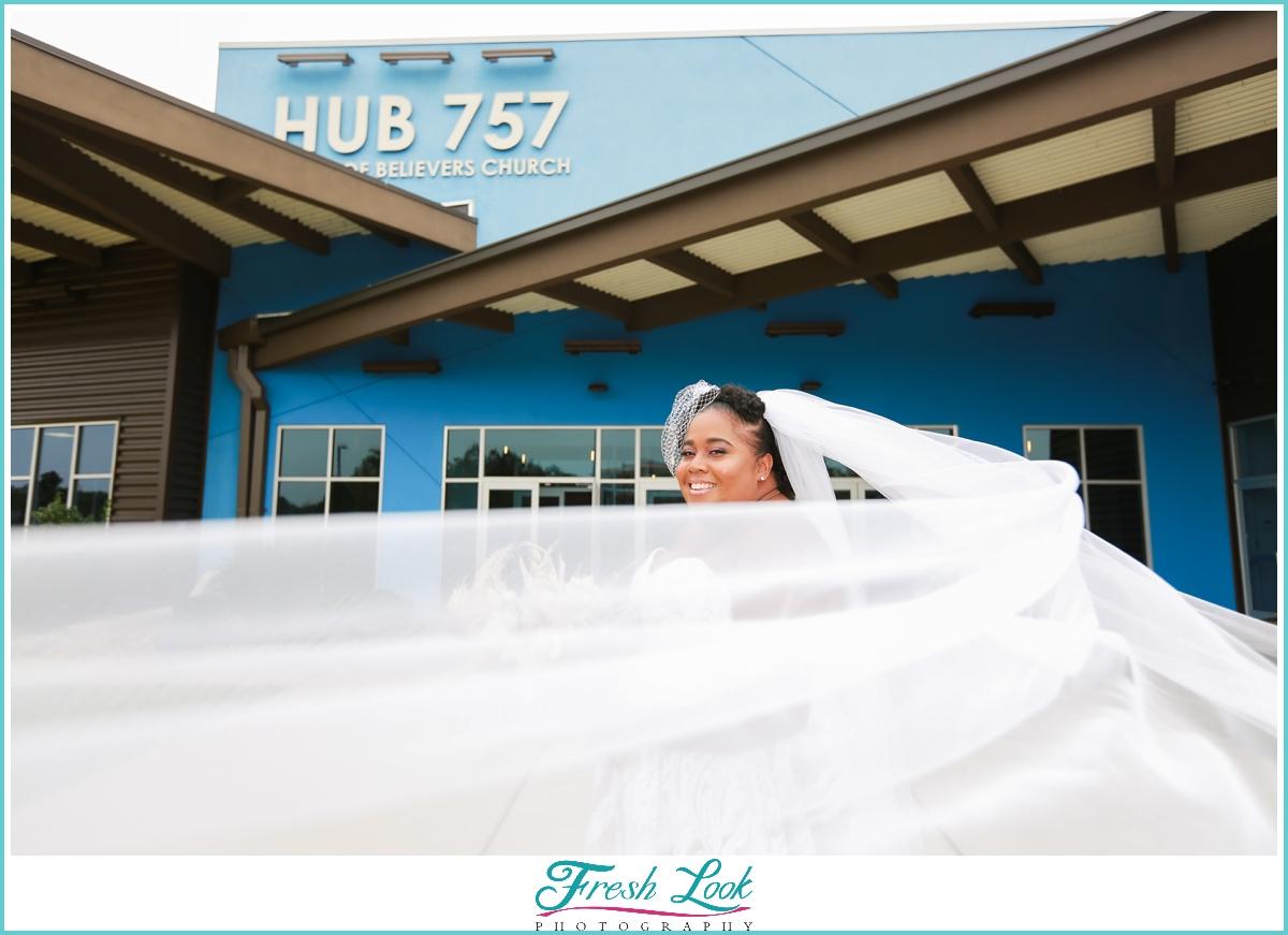 Hub 757 Bridal Photoshoot