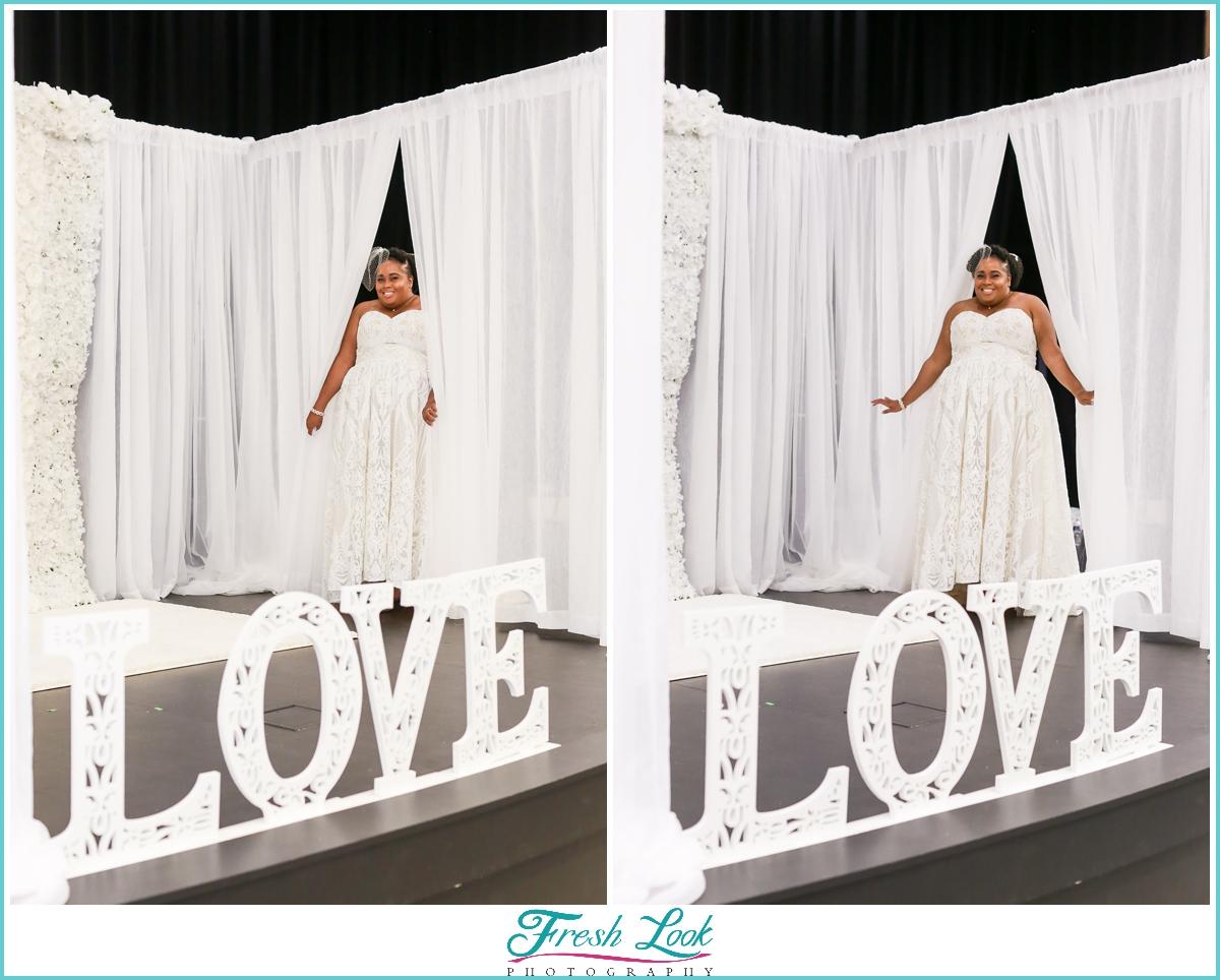 Bridal Show entrance