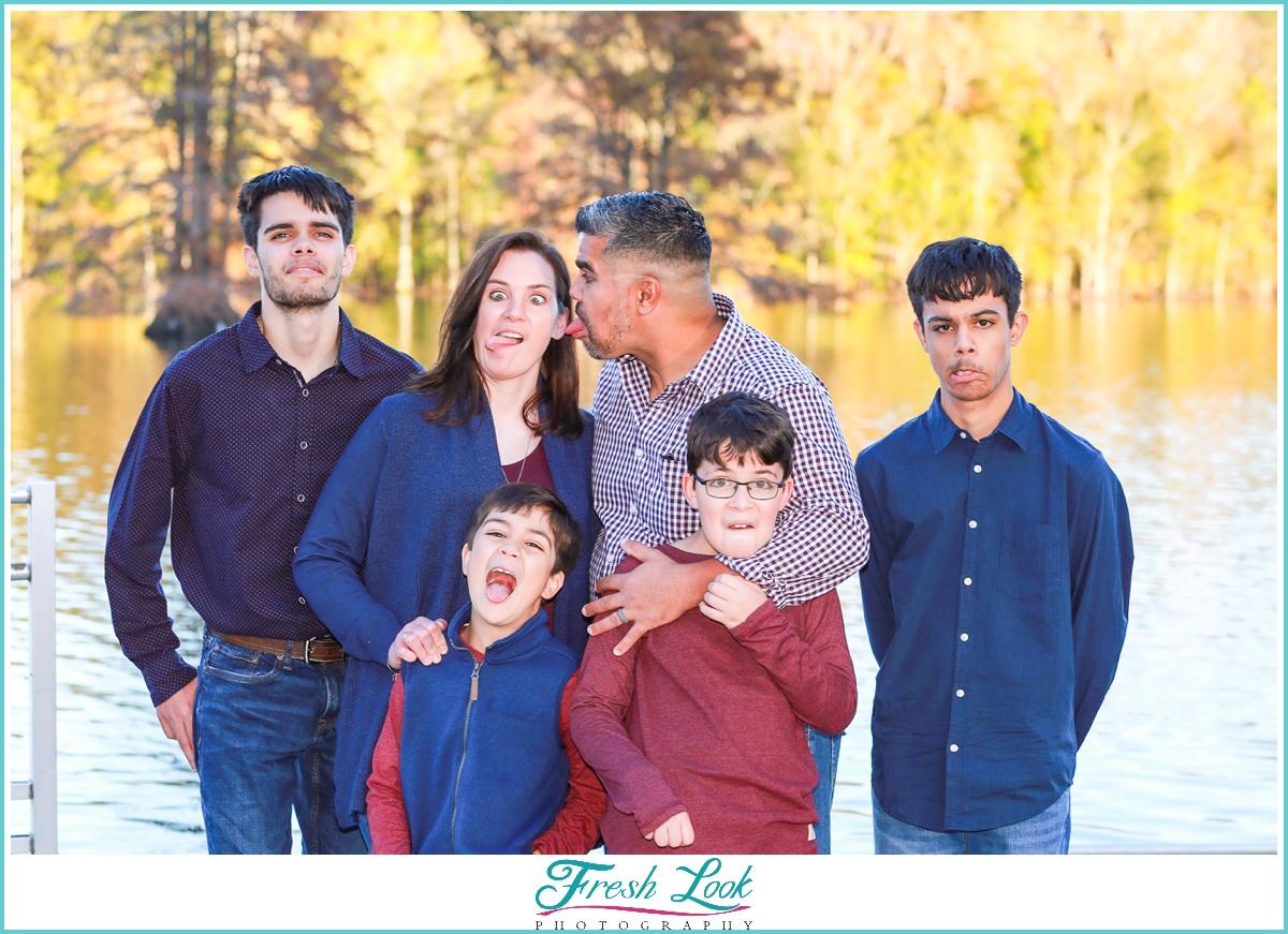 Fun Virginia Beach family photography