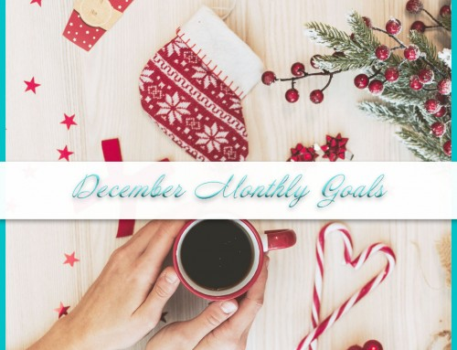 December 2020 Goals | Personal+Professional