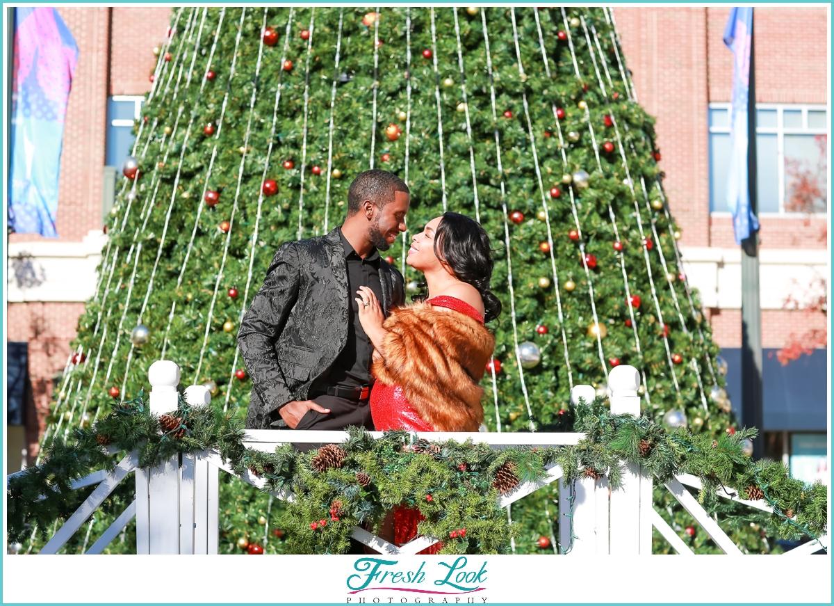 romantic classy holiday photos