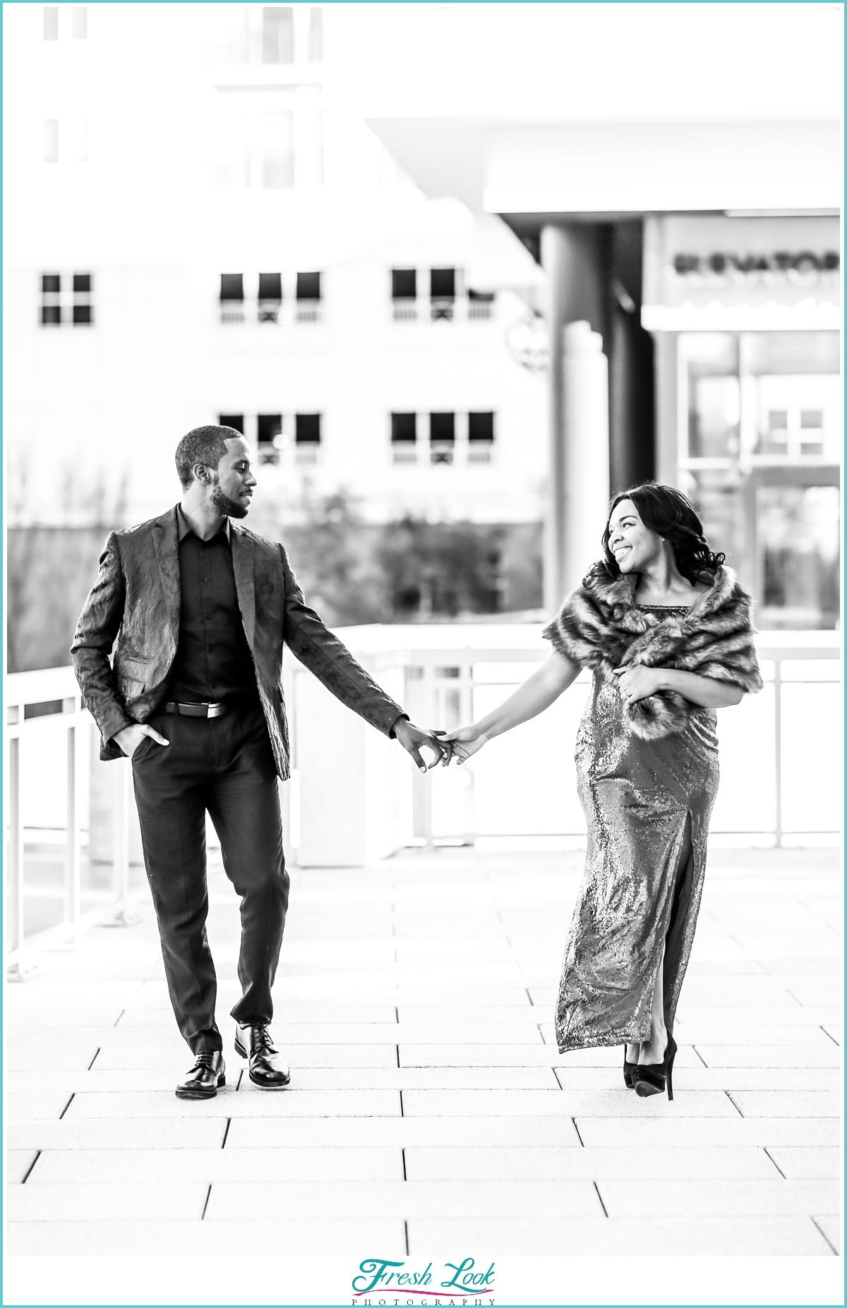 black and white couples photos