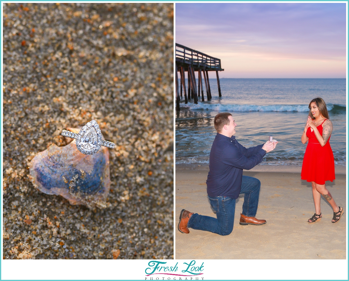 surprise sunset beach proposal