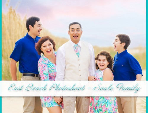 East Beach Photoshoot | Soule Family
