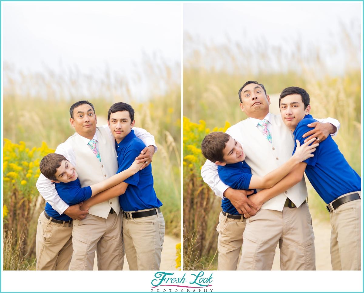 dad of boys photos