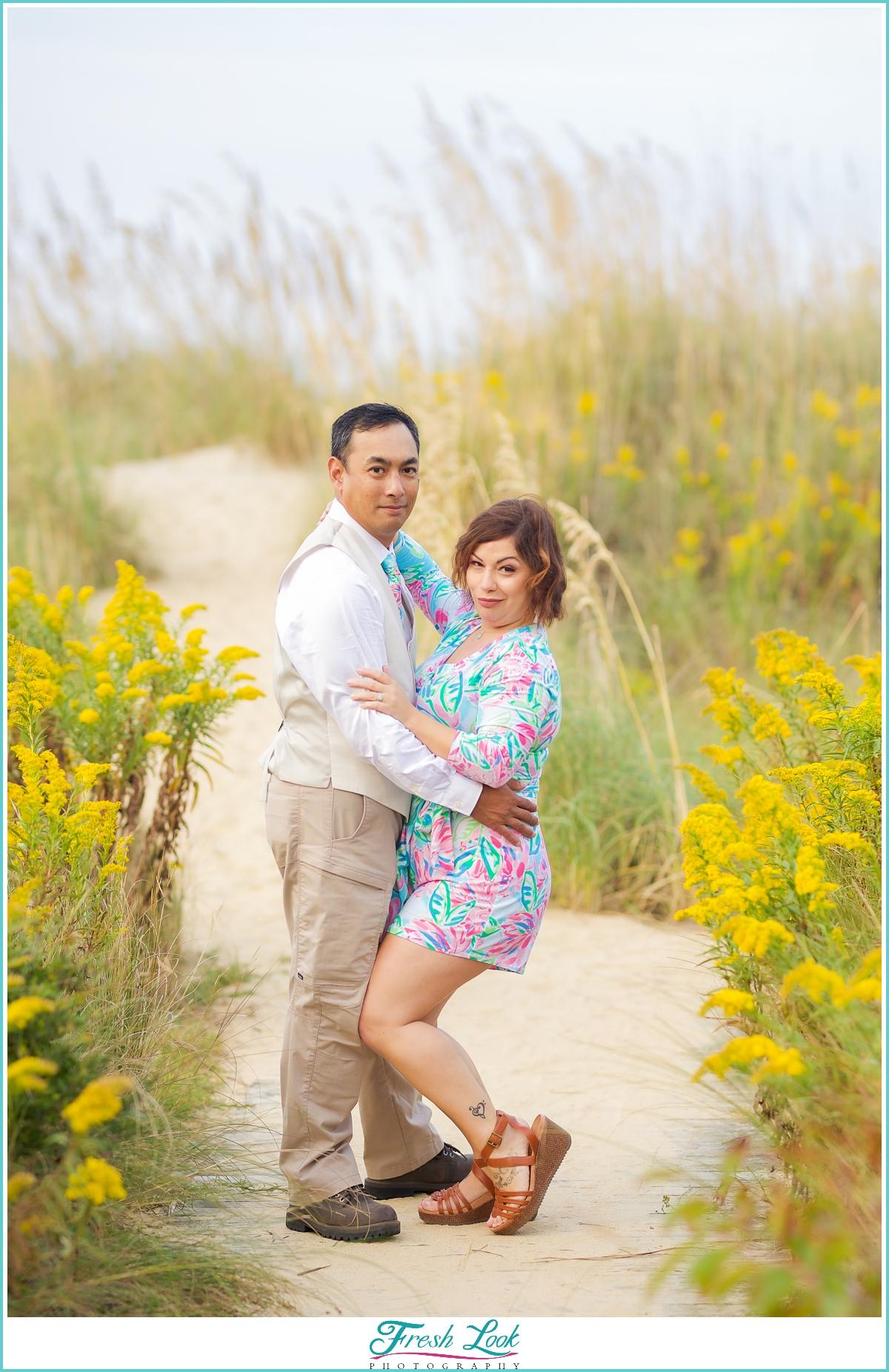 fun couples photoshoot