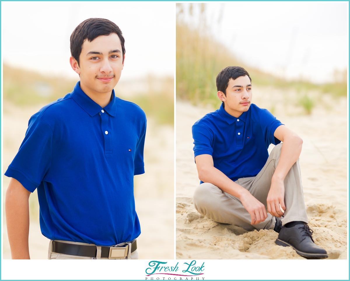 senior boy photoshoot