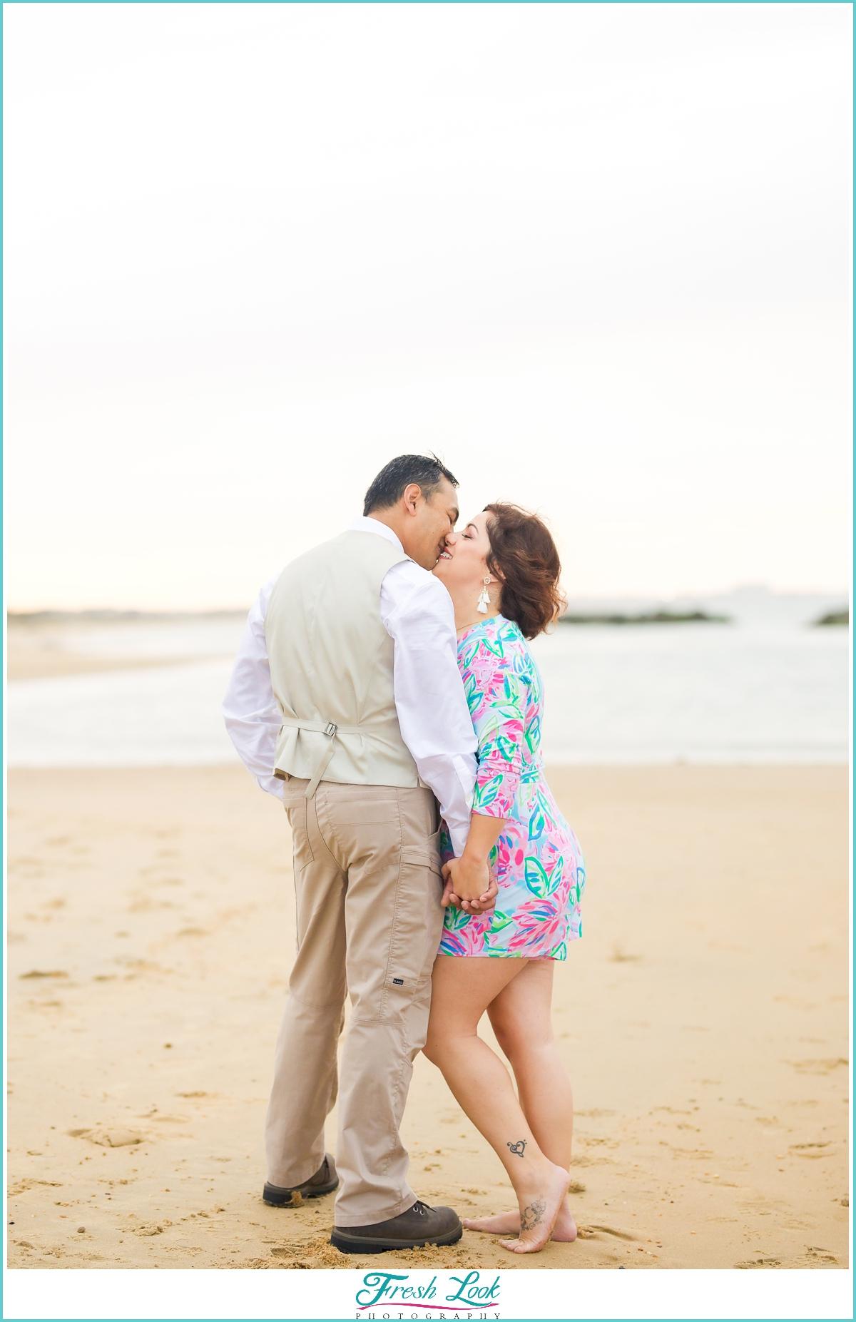 Virginia Beach Anniversary photoshoot