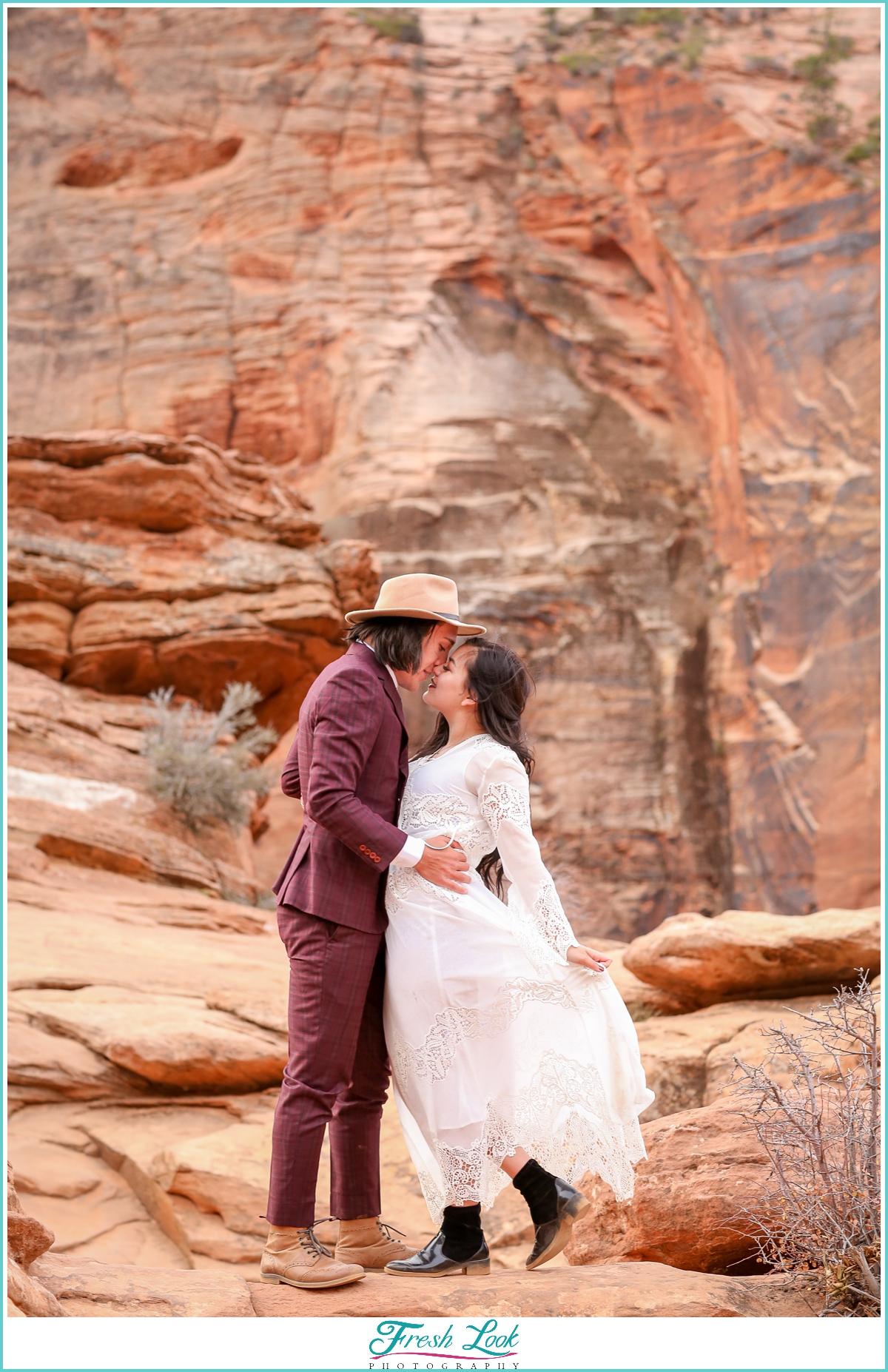 mountain elopement photos