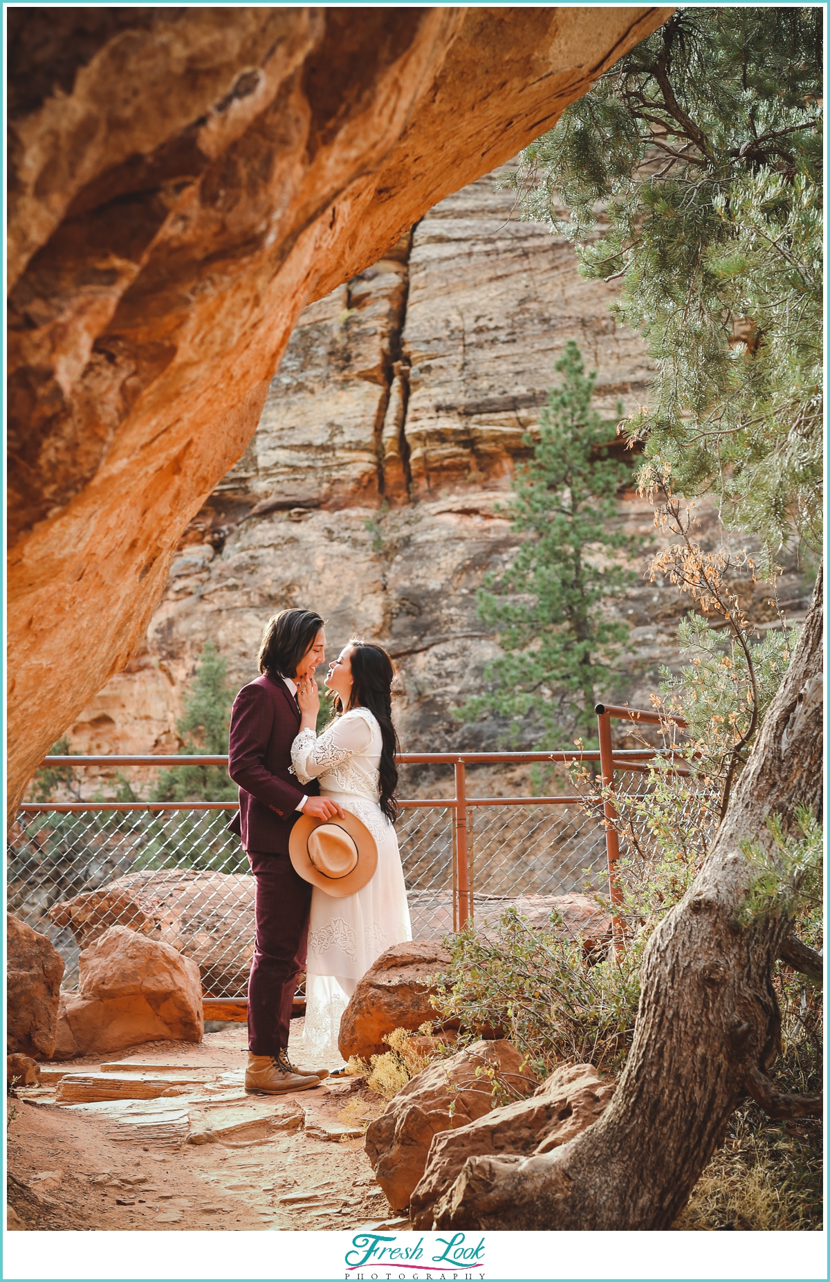 best Zion national park elopement photographer