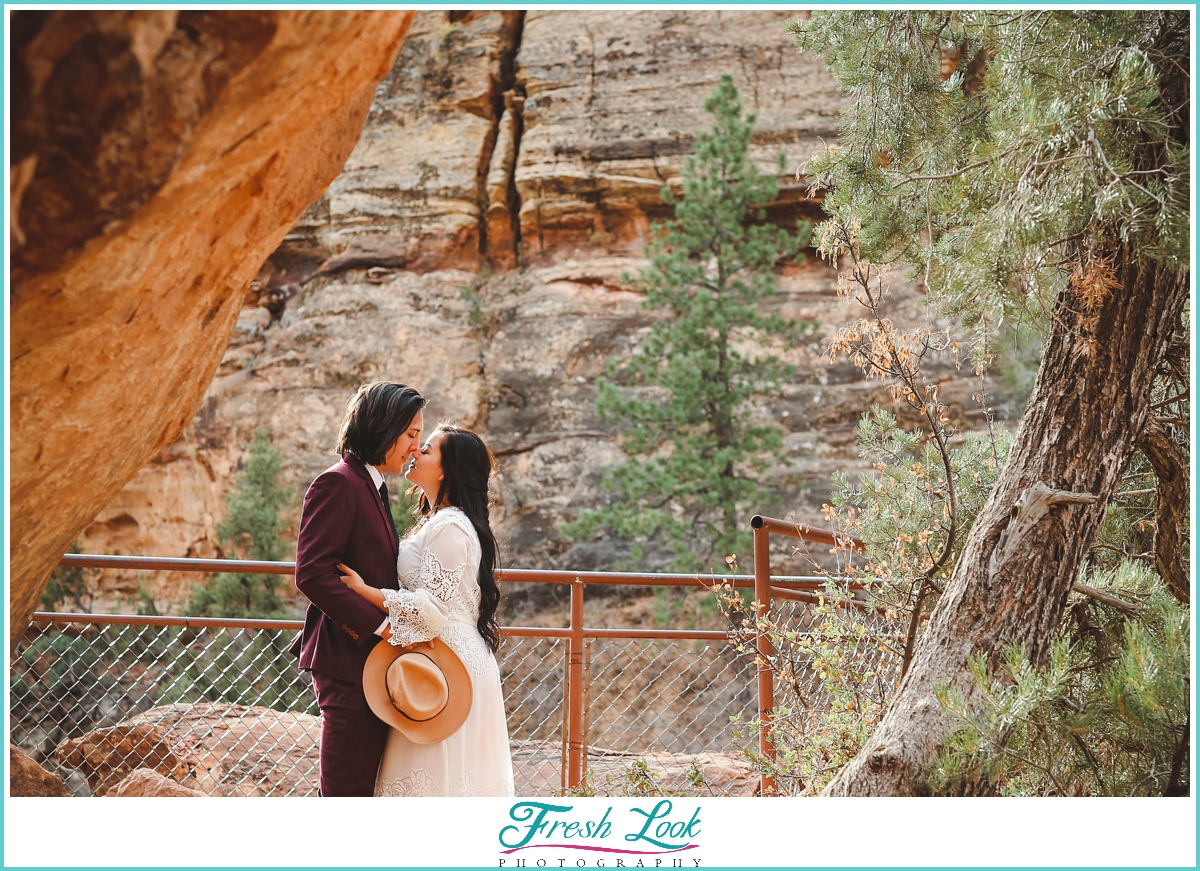 mountain elopement session