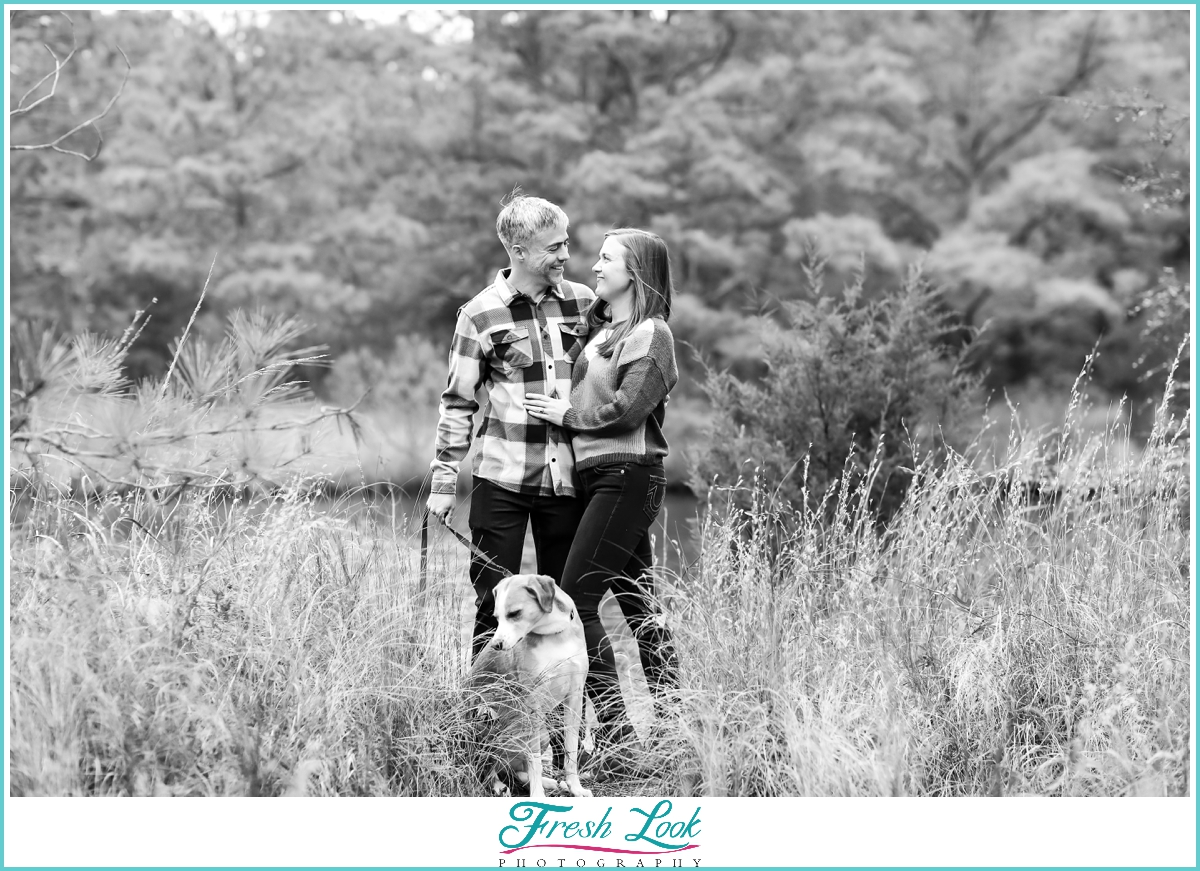 Pleasure House Point engagement session