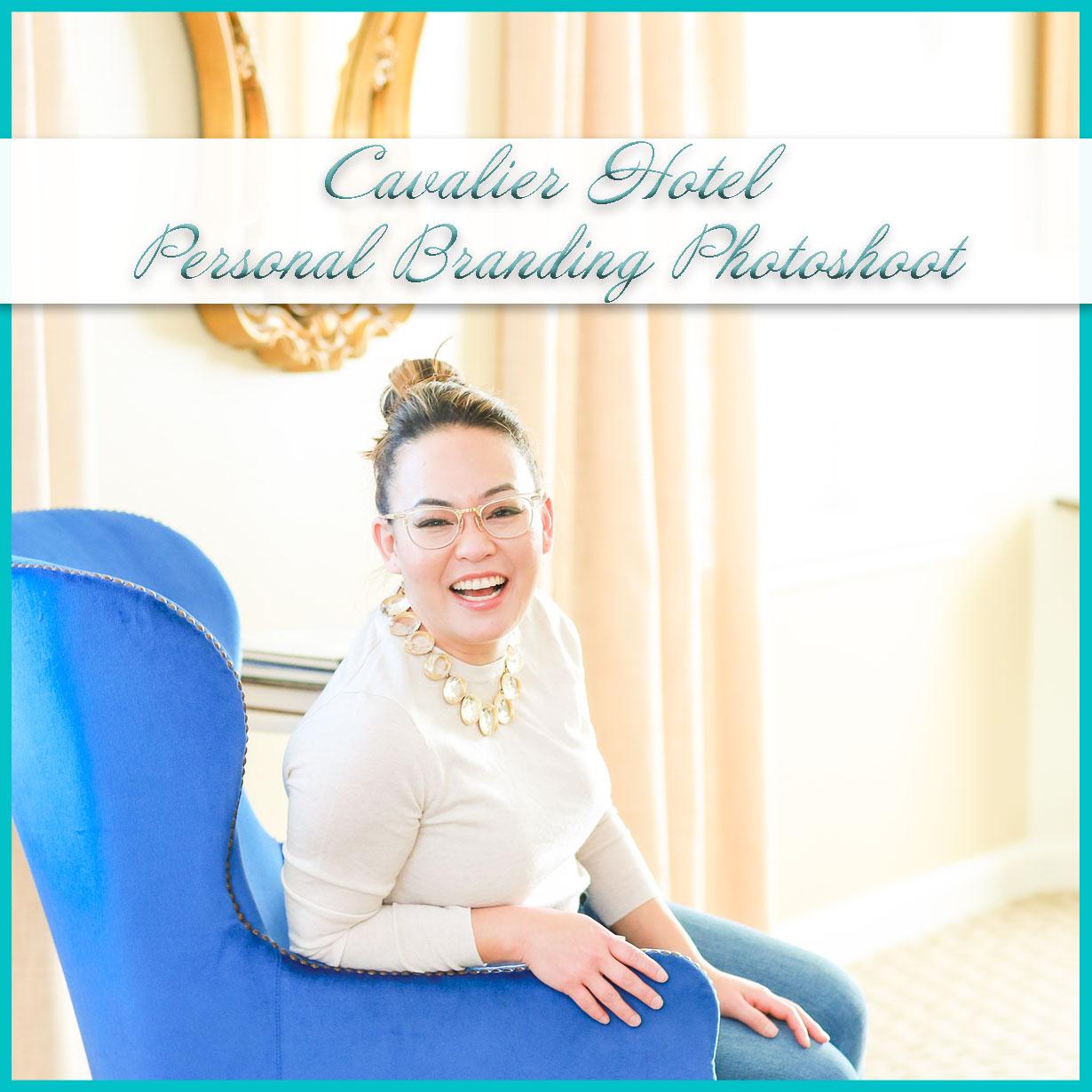 Cavalier Hotel Personal Branding Photoshoot