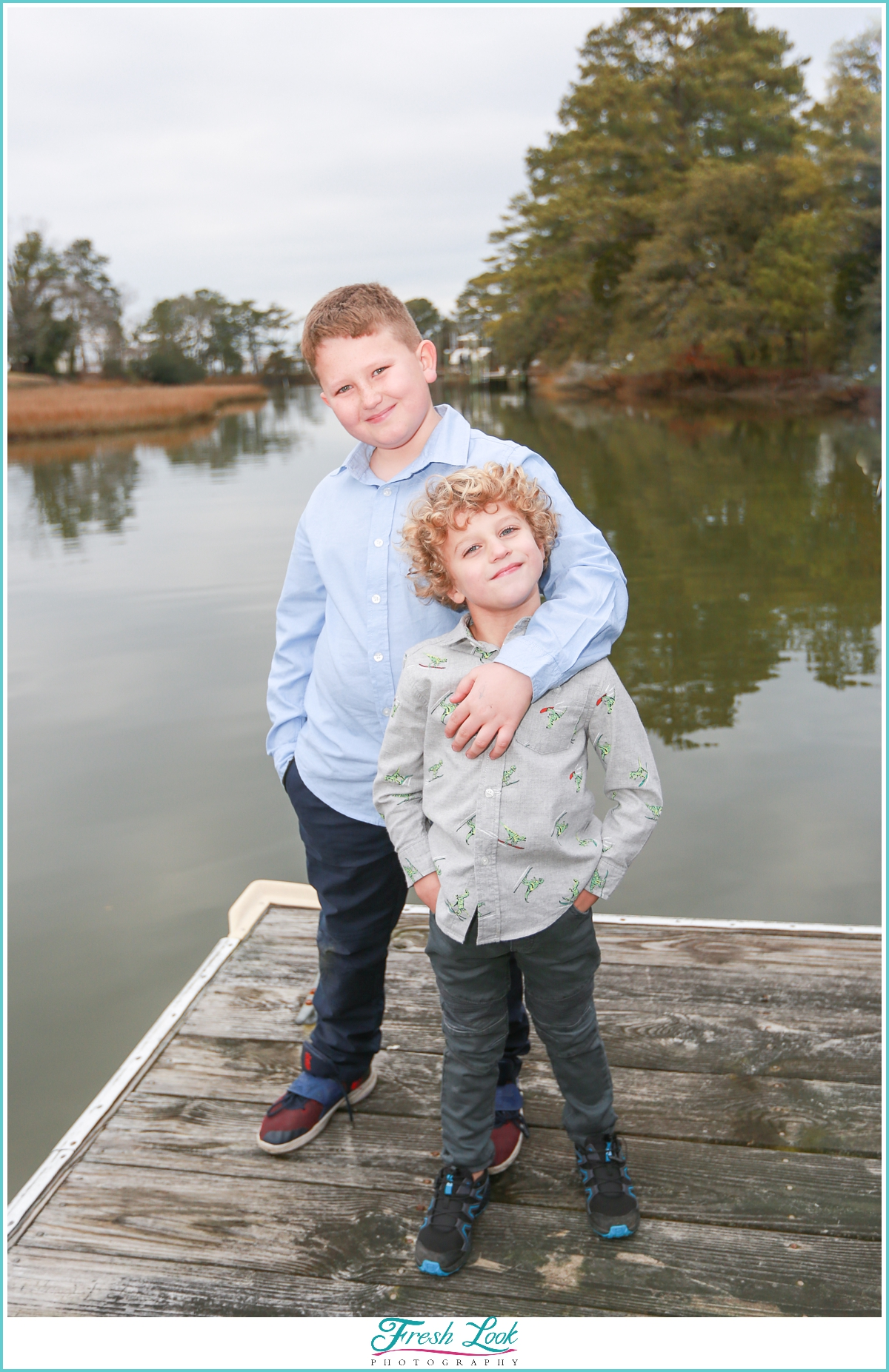 brothers photoshoot