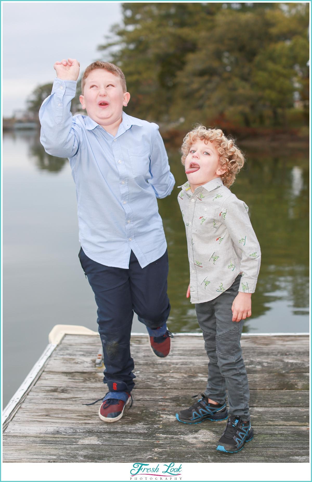silly boys photoshoot