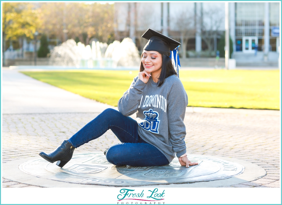 Graduation Photoshoot at Old Dominion University